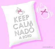COIXI KEEP CALM NADÓ A BORD (PURPURINA)
