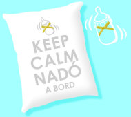 COIXI KEEP CALM NADÓ A BORD (PURPURINA) INEDIT FESTA