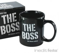 TAZA THE BOSS - EL JEFE / INEDIT FESTA
