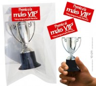 BOLSA COPA TROFEO VIP* VERY IMPORTANT PERSON (ETIQ.ROJA) 10 CM / INEDIT