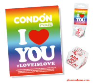 CONDÓN I LOVE YOU / LOVE IS LOVE DAU ARA NO TOCA (TIRA) INEDIT