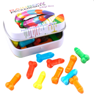 PASTILLAS PENE COLORES ARCOIRIS / RAINBOW PECKERS MINTS / INEDIT FESTA PRIDE