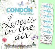 6 CONDONES LOVE IS IN THE AIR CAMPESTRE / INEDIT FESTA